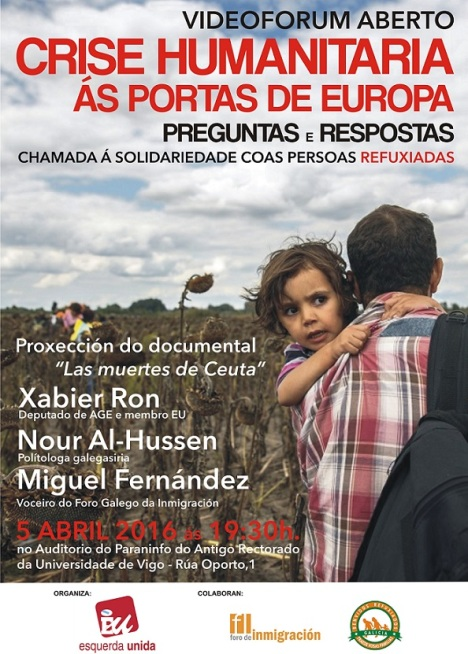 cartaz refuxiadas VIGO